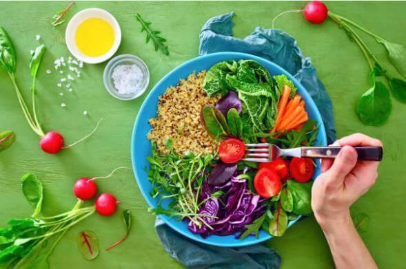 arco, comida saudável