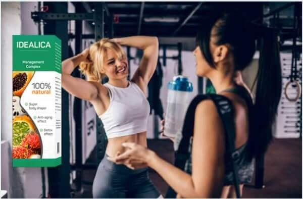 duas garotas em fitness
