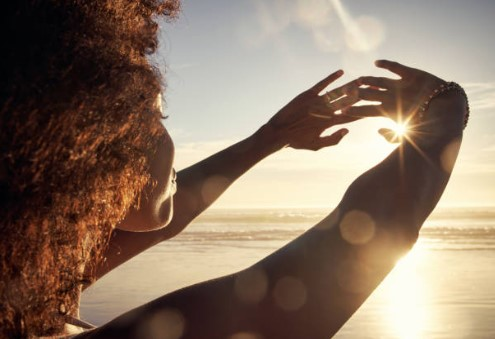 mulher sol