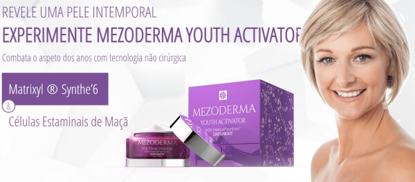 Mezoderma Youth Activator Day&Night Creme, anti-envelhecimento rugas