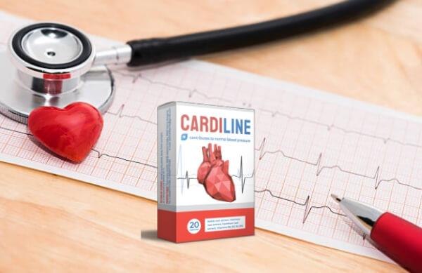 cardiline cápsulas hipertensão coração