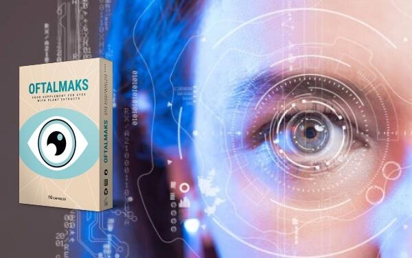 cápsulas, olhos, visão