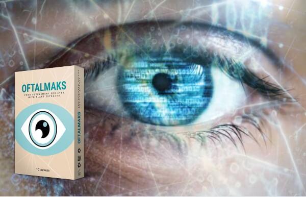 oftalmaks, cápsulas, olhos, visão