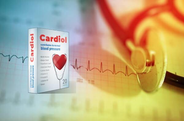 cardiol cápsulas coração pressão alta hipertensão