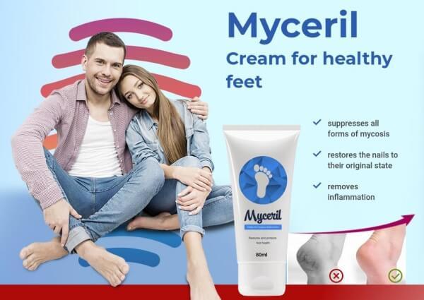 myceril creme pés infeções fungais