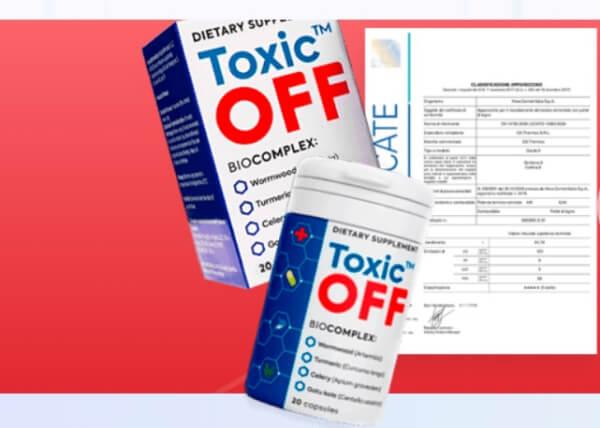 Toxic Off Preço