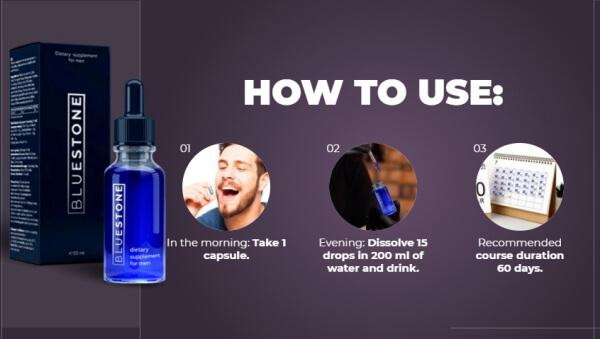 Como tomar a Blue Stone