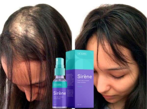 Alopecia, cabelo spray lecleresirene