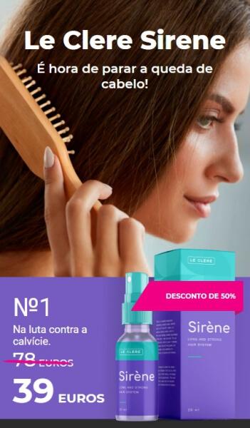 Le Clere Sirene - Preço em Portugal